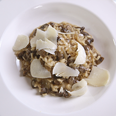 Oven-baked Wild Mushroom Risotto