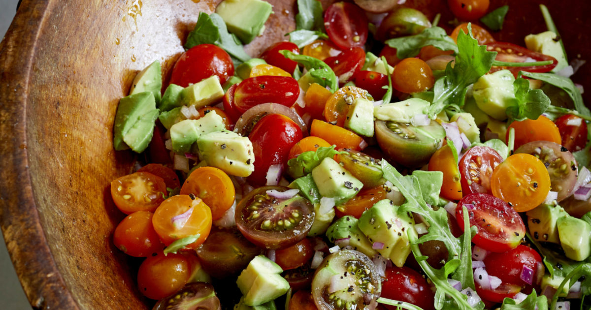 Tomato & Avocado Salad