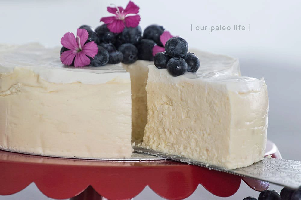 Instant Pot Low-Carb Cheesecake {keto; primal}