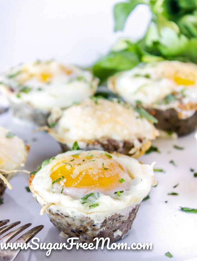 Keto Sausage Egg Cups (Low Carb, Gluten Free)